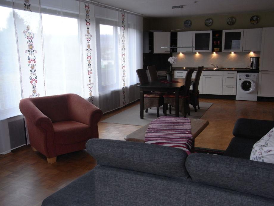 Wohnküche auf 40 qm²