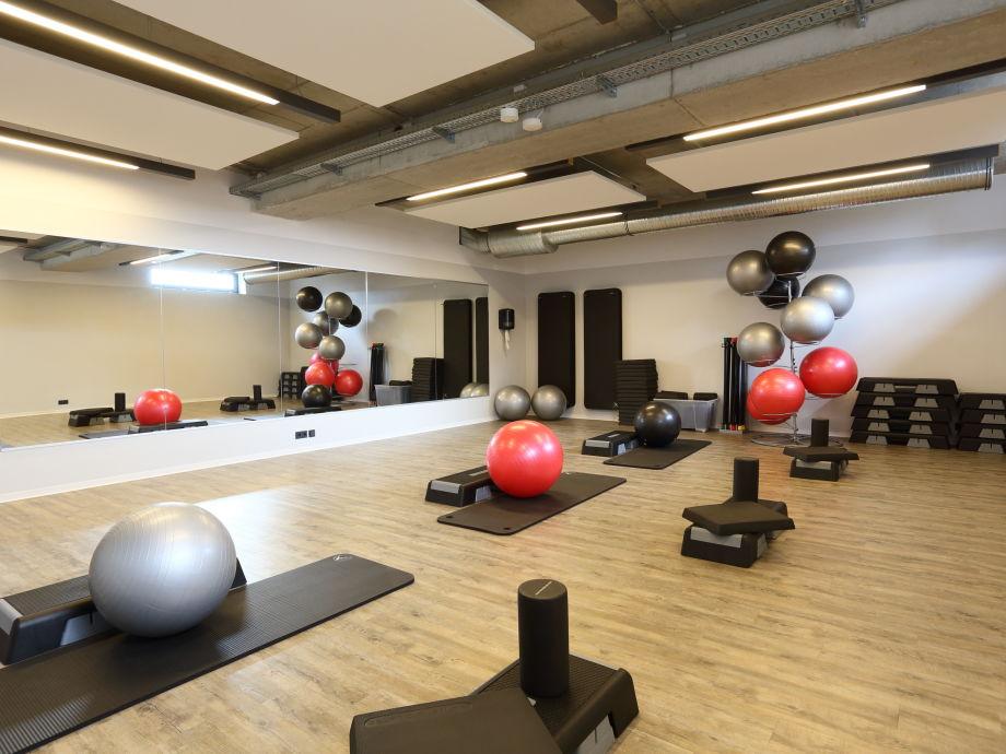 Ferienwohnung kapit nssuite elbstrand resort for Salon de fitness