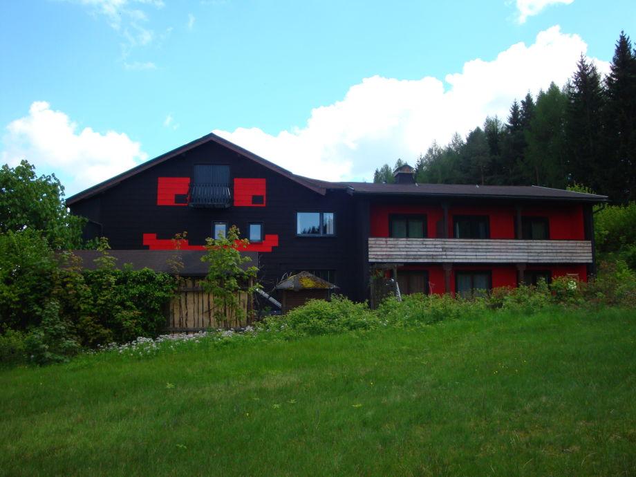Unser Haus lächelt jedem Urlauber entgegen ;-)