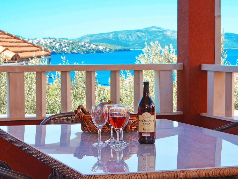Terrasse mit fantastischem Ausblick