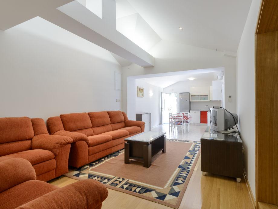 Wohnbereich mit Sofas
