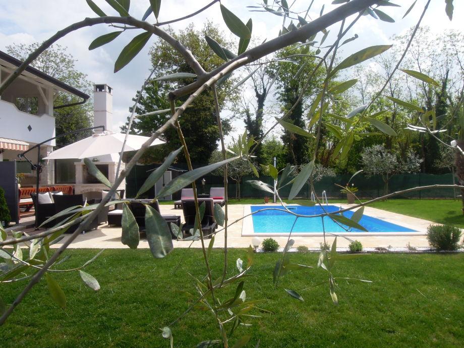 Außenaufnahme Villa Ivan