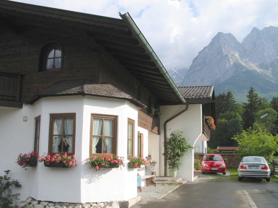 Erker Wohnung Zugspitze