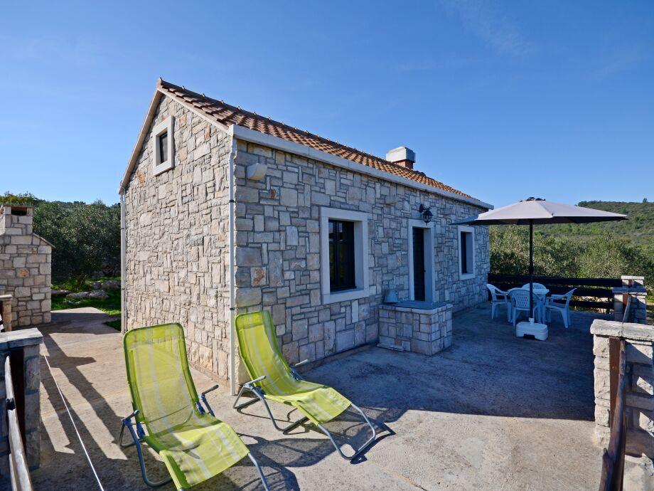 Das Ferienhaus von außen