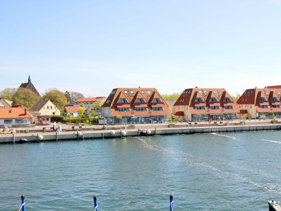 Lage der Hafenhäuser Wiek