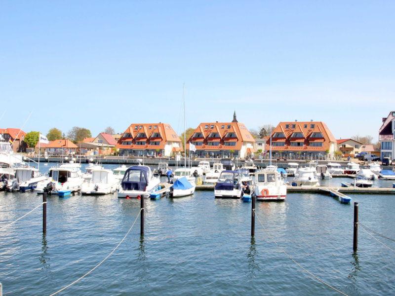 Ferienwohnung A13 in den Hafenhäusern Wiek