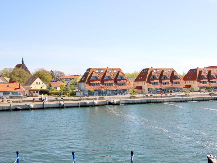 Außenaufnahme B07 in den Hafenhäusern Wiek