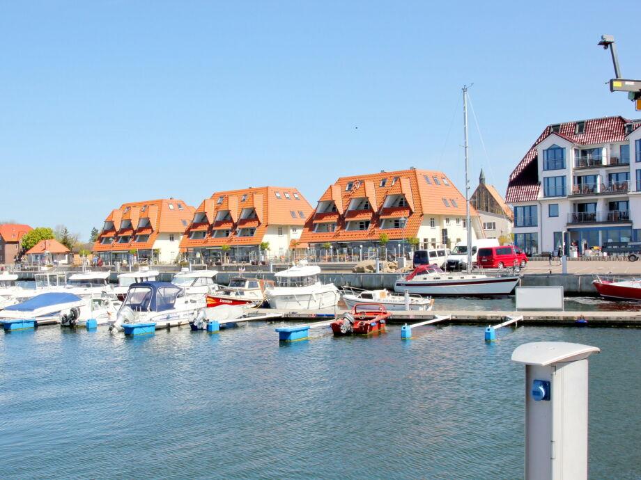 Meerblick-FeWo direkt am Seglerhafen gelegen
