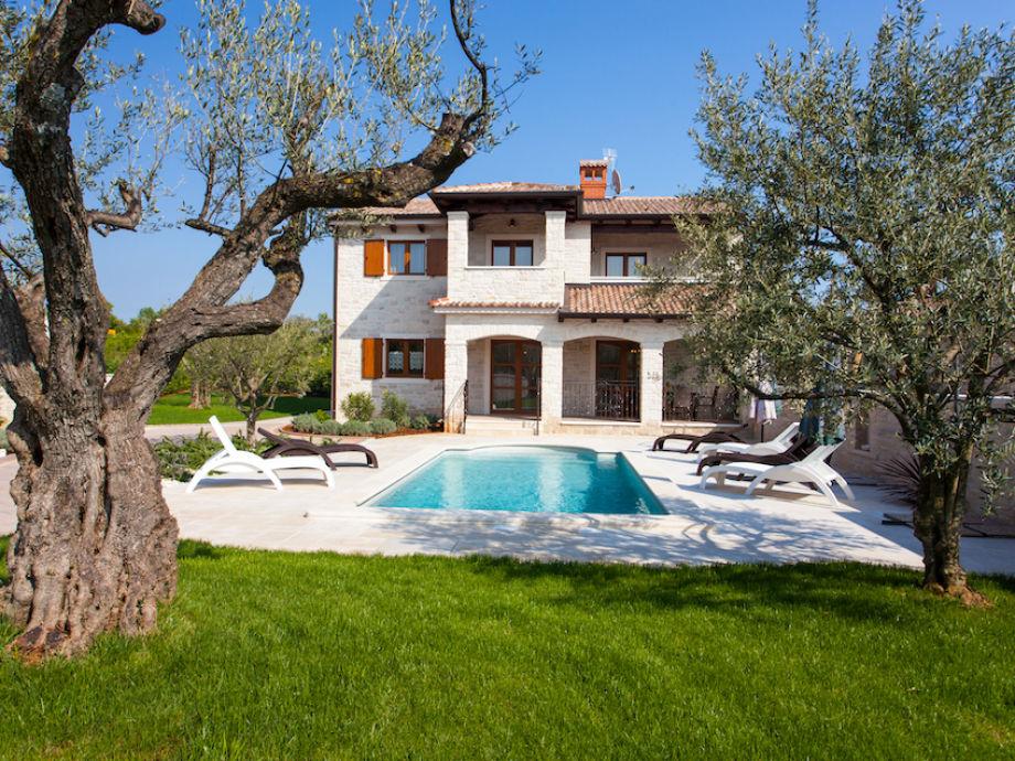 Außenaufnahme Villa Vabriga