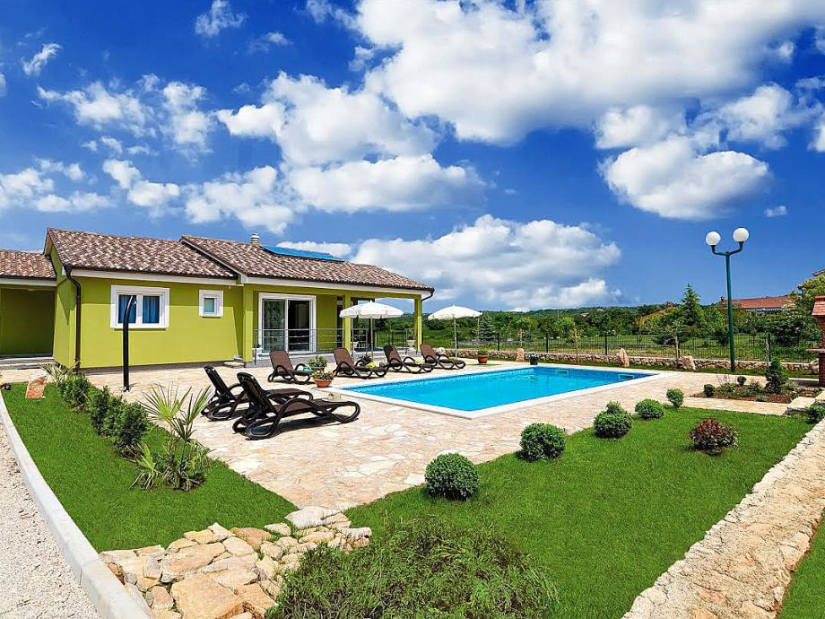Villa Green in Kroatien