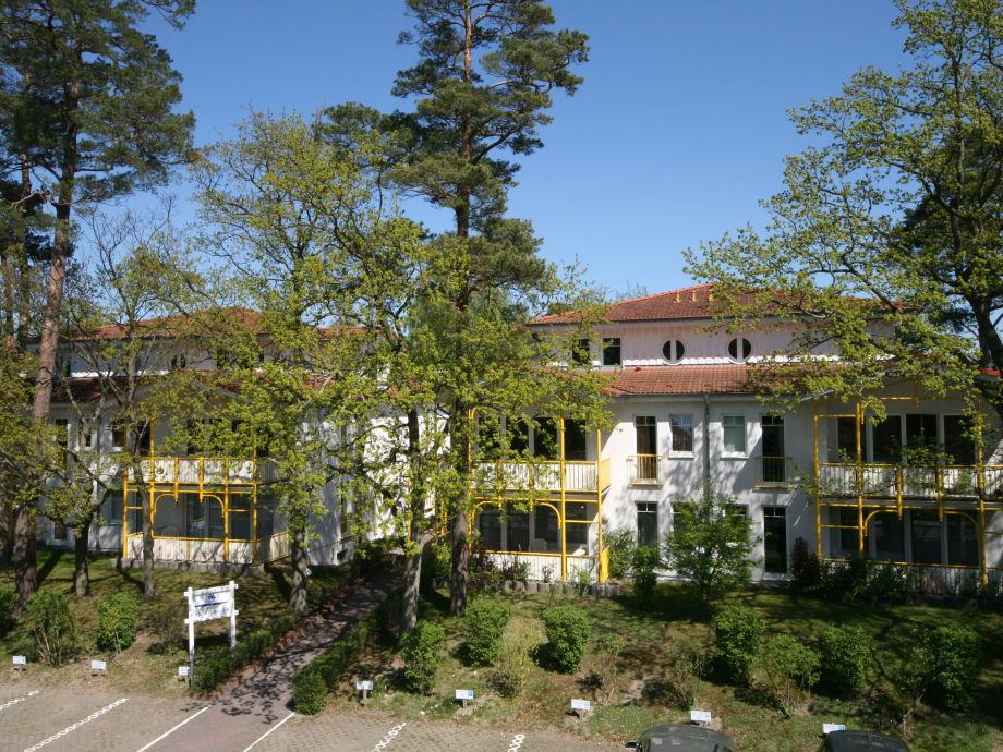 Außenaufnahme 14 in der Villa Störtebeker F.01 mit Balkon