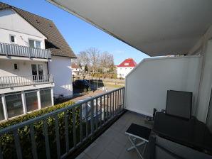 Ferienwohnung 6 Strandkieker F.01 mit Balkon