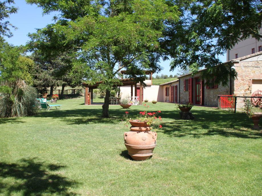 Die Villa mit großem Privatgarten