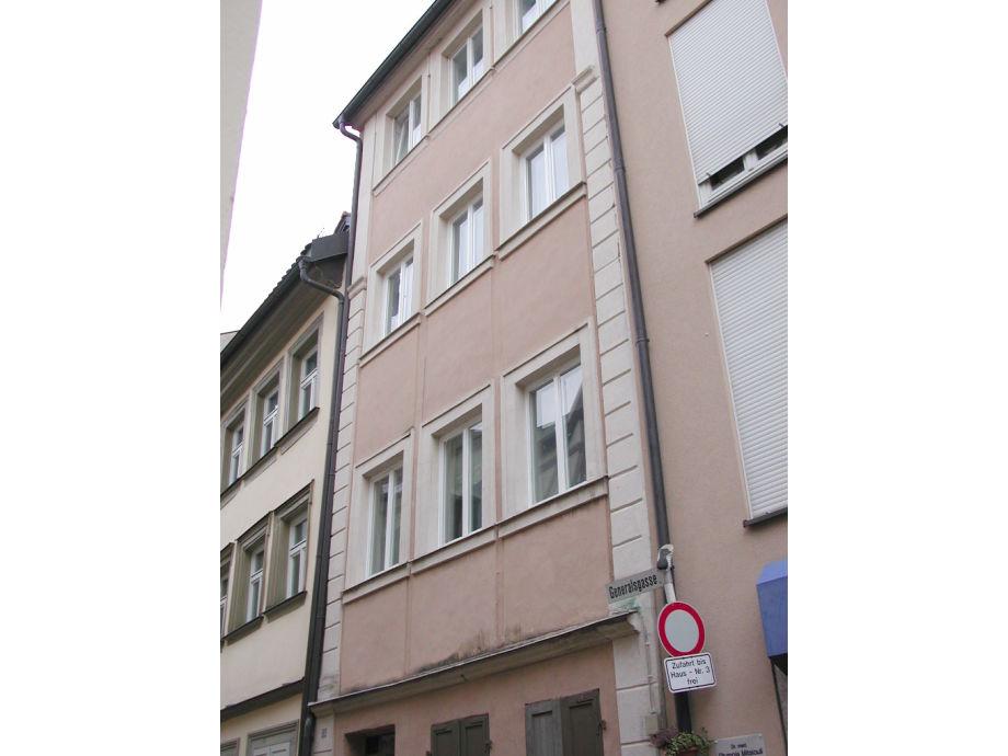 Außenaufnahme Apartment- Bamberg