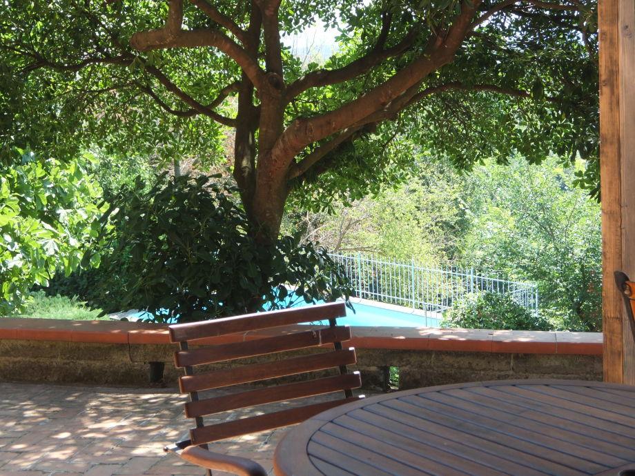 Garten Sitzplatz Whg B