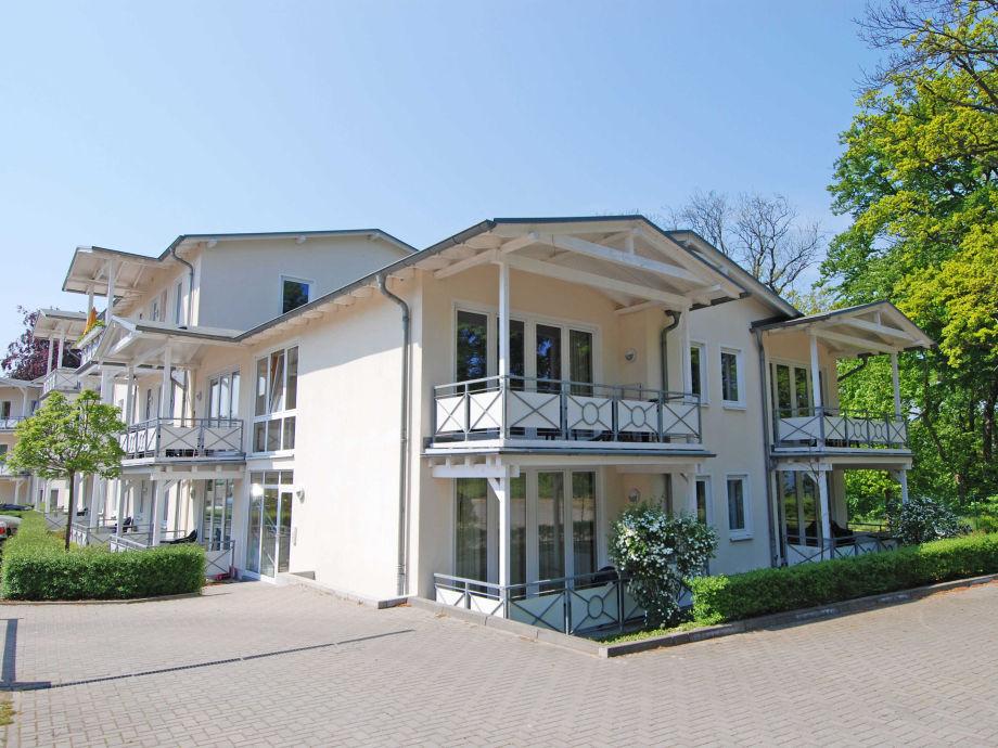 Haus Brandenburg im Ostseebad Göhren Hausansicht