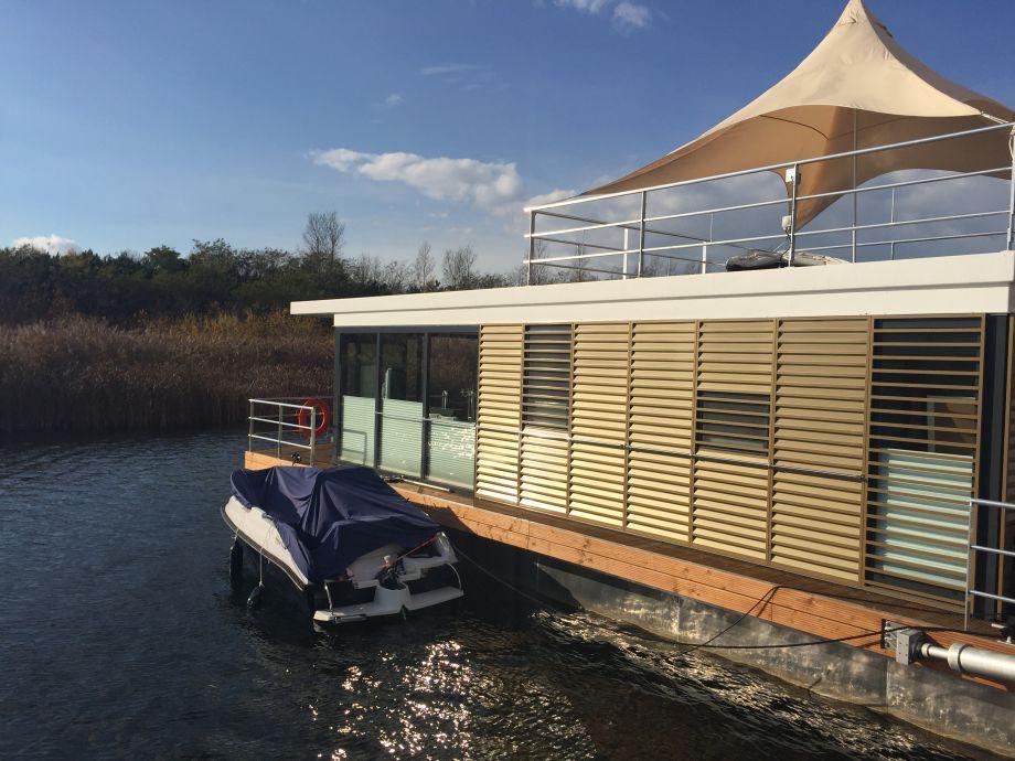 Außenansicht Boot