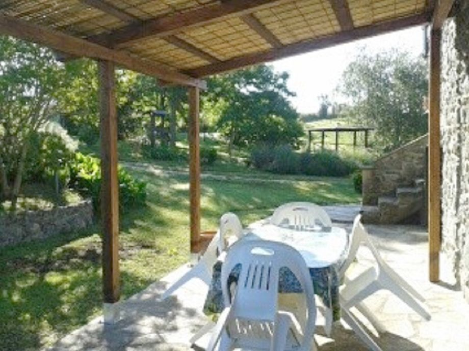 Außenaufnahme Casa Rosa im Haus La Cantinaccia
