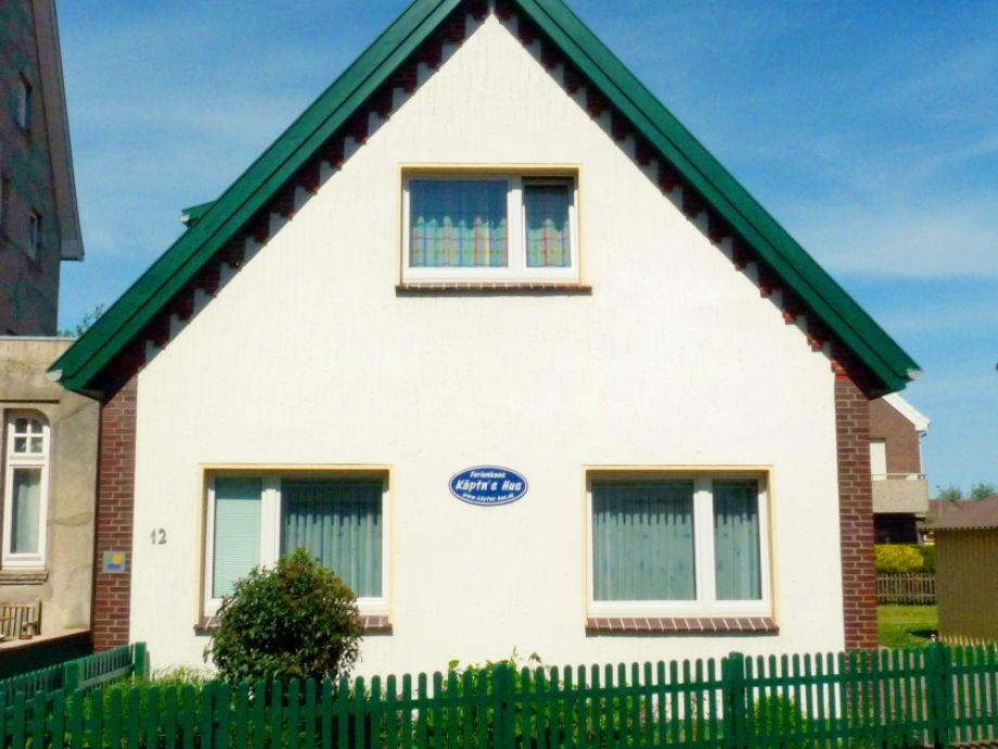 Das Ferienhaus Käptn's Hus auf Borkum