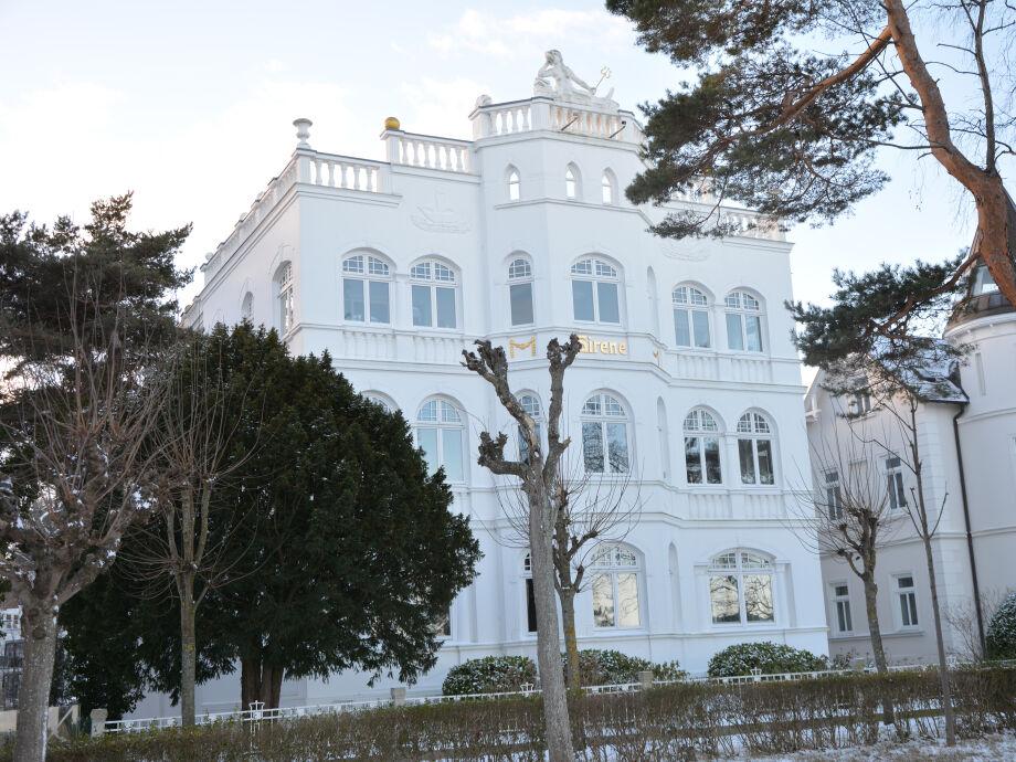 """Aussenansicht der Villa """"Sirene"""""""