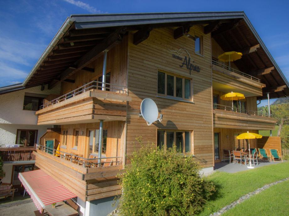 Gästehaus Alpina Riezlern Sommer