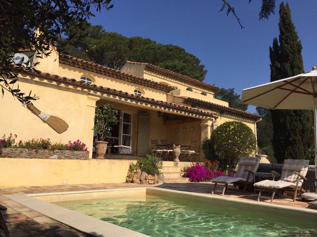 Villa Maison d`Azur, Grimaud, Familie Phillip und Bettina Maus