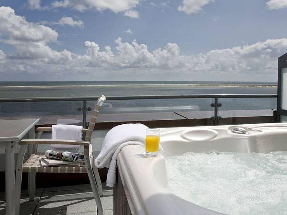 Außenaufnahme Premium-Ferienwohnung André in der Amrumer Welle