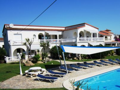 A in beach resort Badia