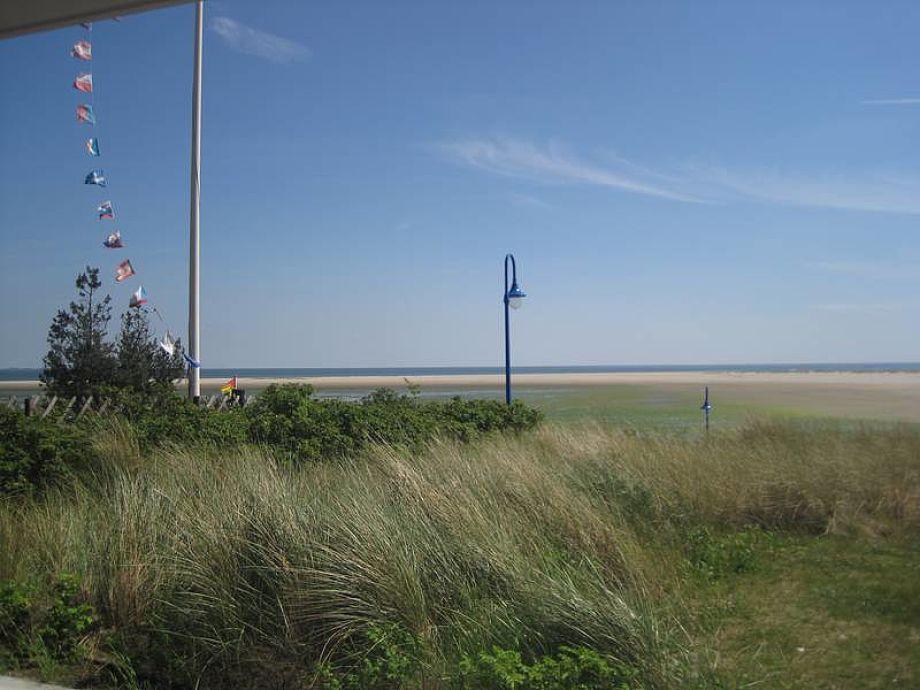 Ausblick über den Strand
