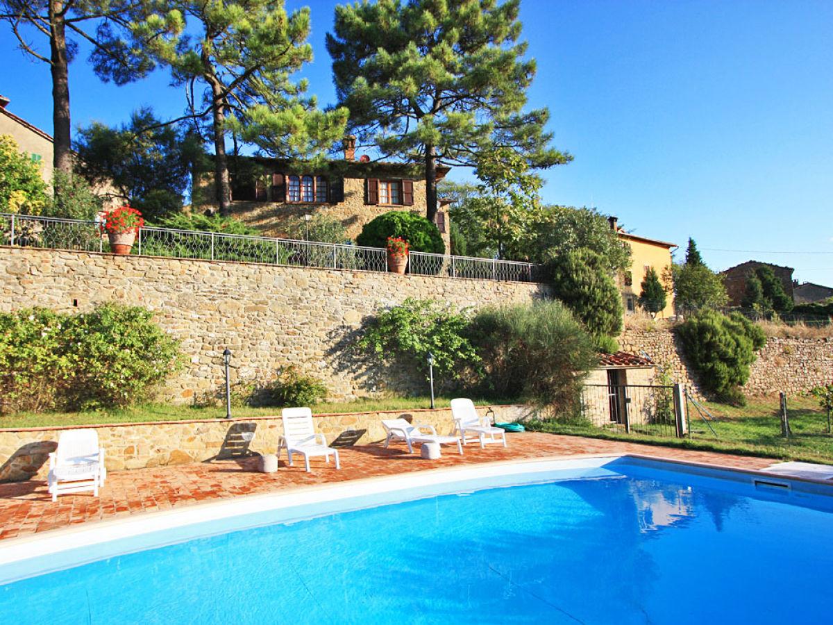 Ferienhaus monte san savino 430 toskana firma esprit for Ferienhaus mit pool