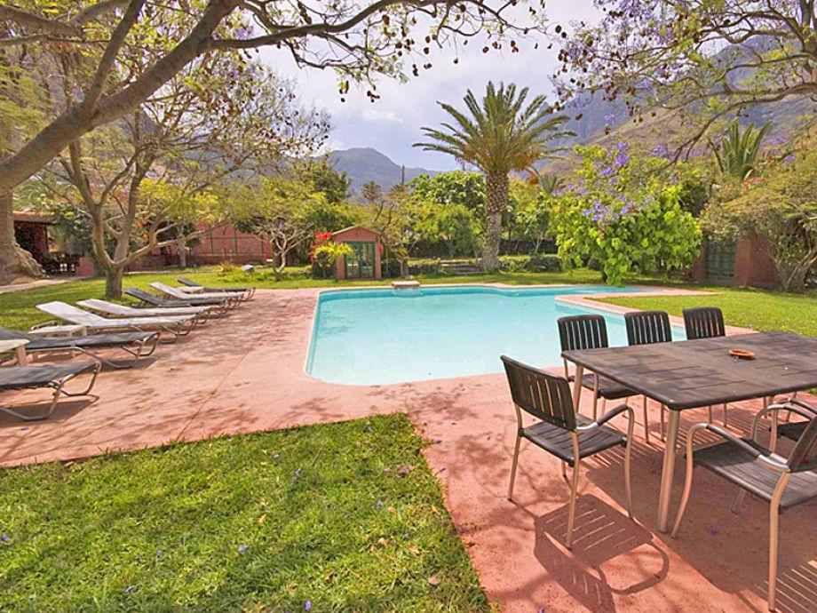 Ferienhaus agaete 4012 gran canaria firma esprit villas for Garten pool wanne