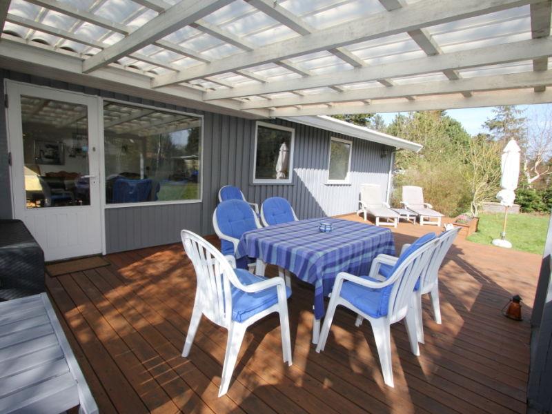 Finns Ferienhaus mit Sauna Süd-Spitze