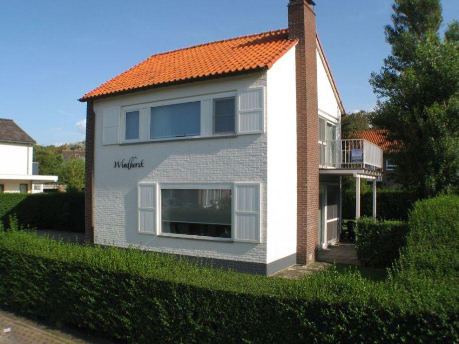 Ferienhaus Windhorst - Strassenseite