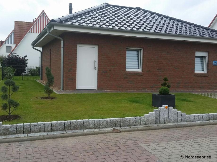 Frontansicht Haus Nordseebrise