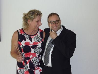 Ihr Gastgeber Marion und Ingo Paech