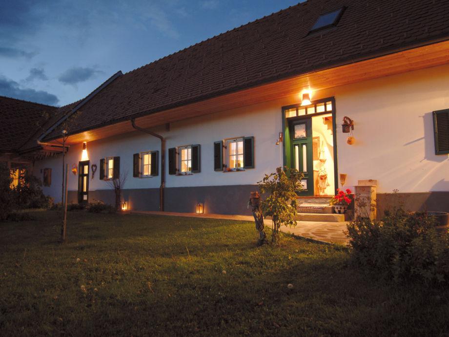 Außenaufnahme Sonnenhaus Grandl Styria