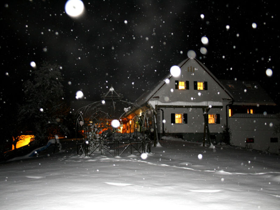 Sonnenhaus Grandl im Winter