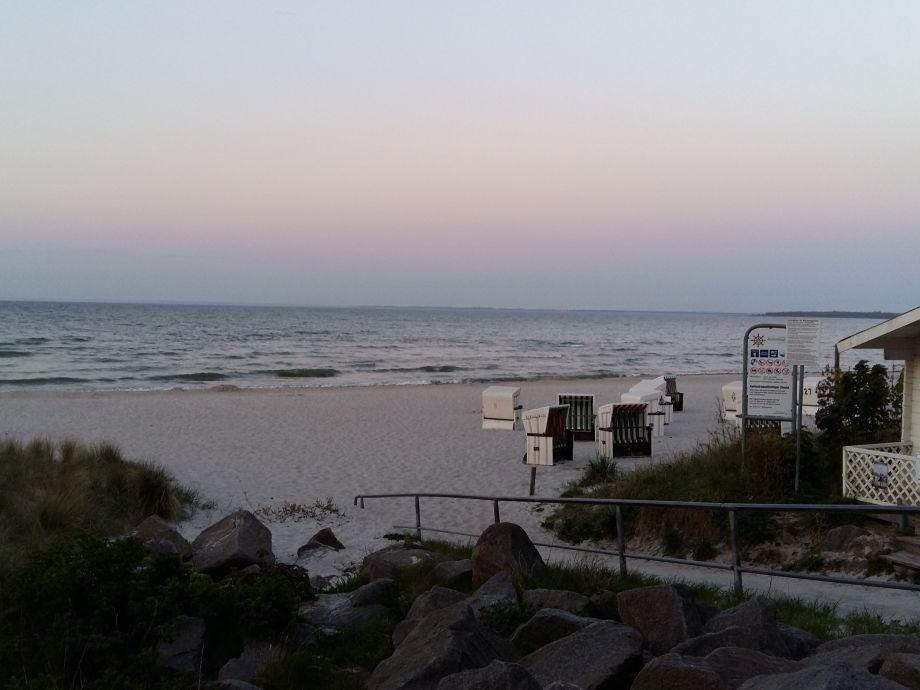 Strand 250 m entfernt