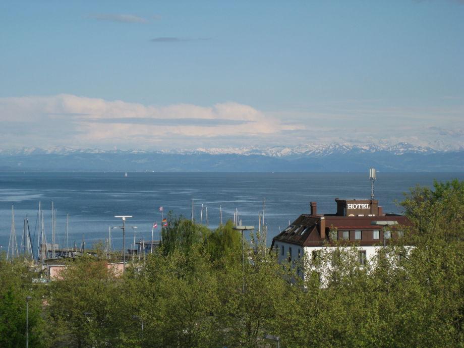 Ausblick von Terrasse