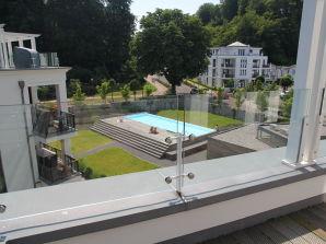 Ferienwohnung Spa Penthouse Binz in der Villa Amalie