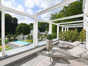 Holiday apartment Spa Penthouse Binz in Villa Amalie