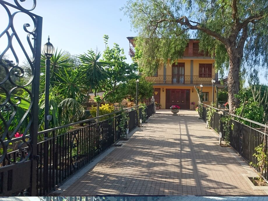 Außenaufnahme Villa Sicels