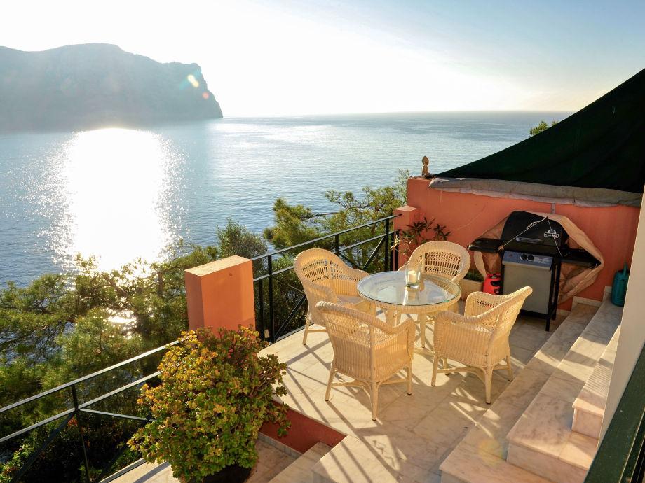 Wunderschöne Terrasse mit Blick