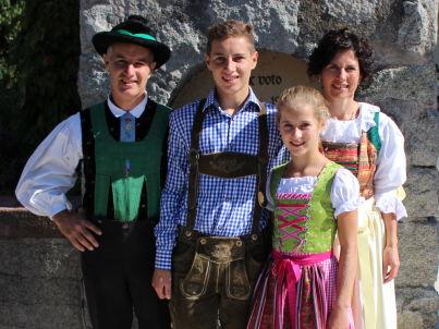 Ihr Gastgeber Clemens, Johanna, Jakob, Katharina Margesin