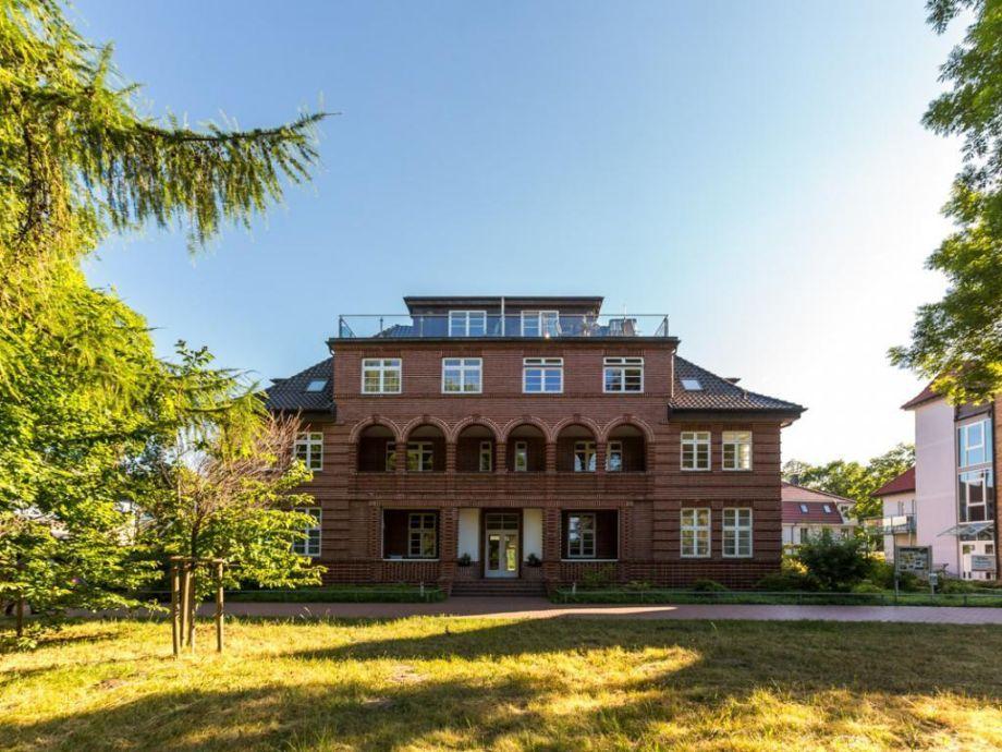 Villa Höger - Blick auf die Villa von der Seeseite