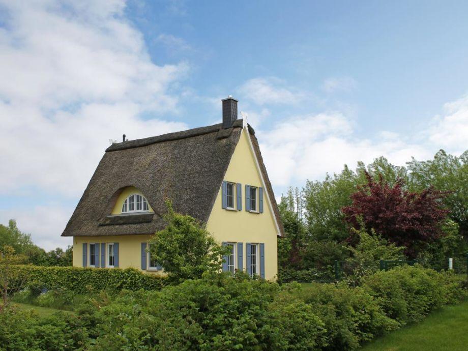 Sanddüne - Blick auf das Ferienhaus