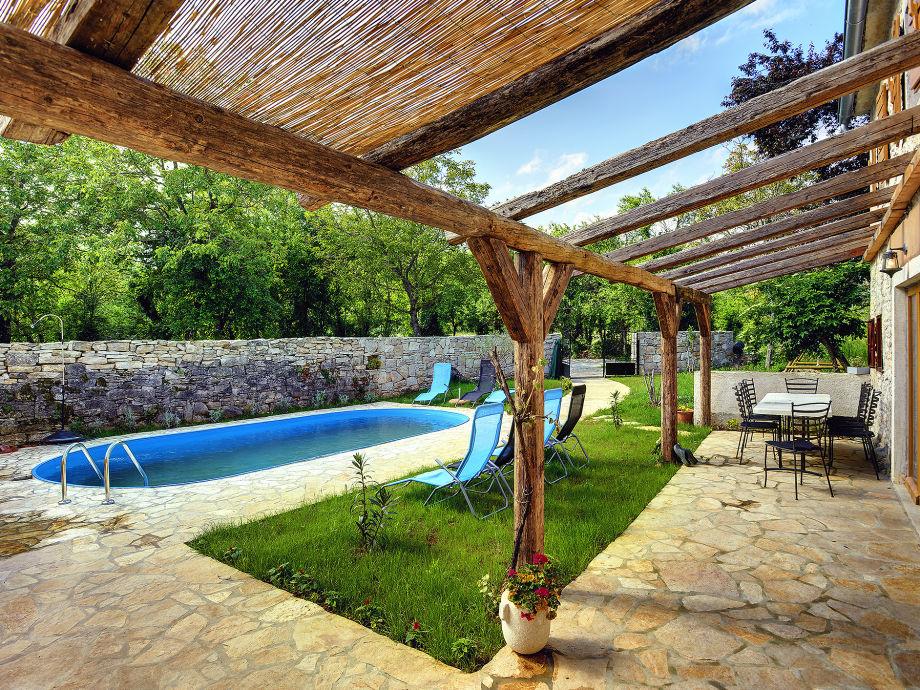 Terrasse für lange Sommerabende...