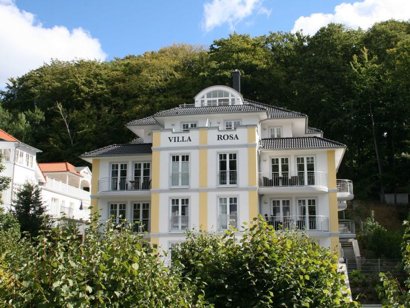 Ferienwohnung Meereszauber 16 in der Villa Rosa