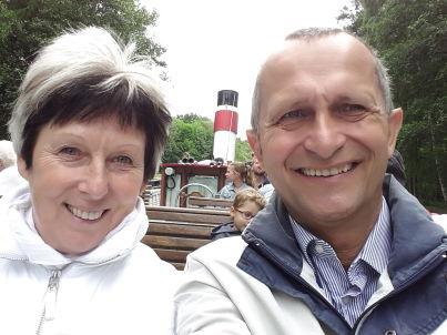 Ihr Gastgeber Gunthardt und Petra Saupe