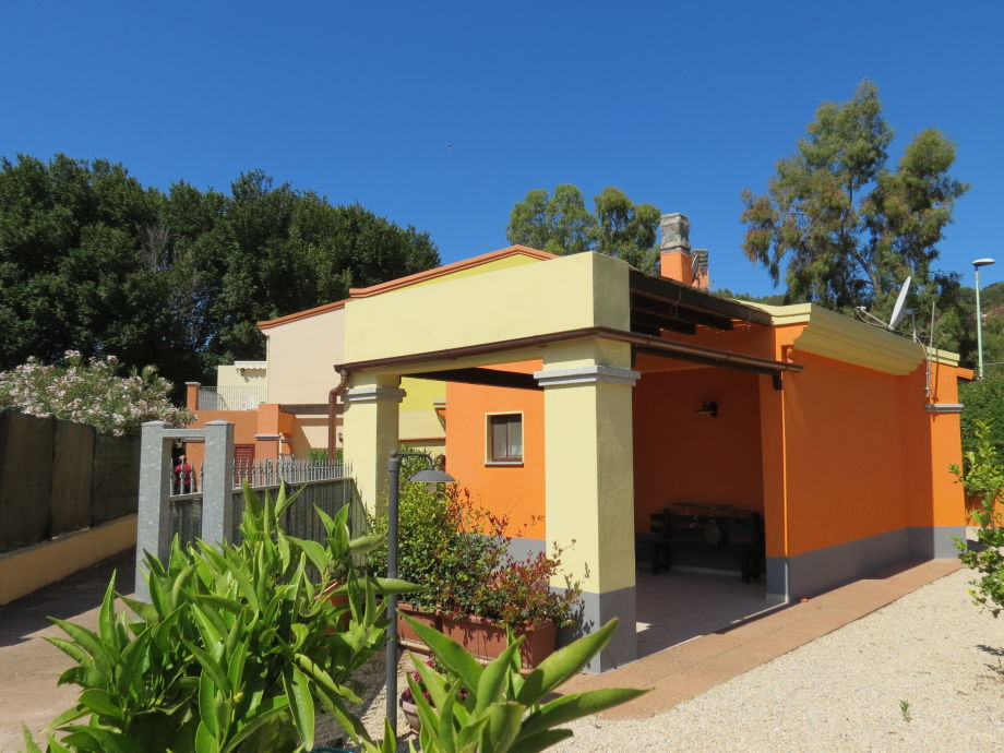 Ferienhaus Dune di Chia Orange